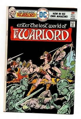 (Enter the Lost World of) Warlord #1, FN Shape, DC Comics (1976)