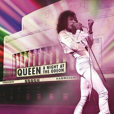 Queen ~ A Night At The Odeon ~ NEW CD ~ Live 1975 at the Hammersmith London