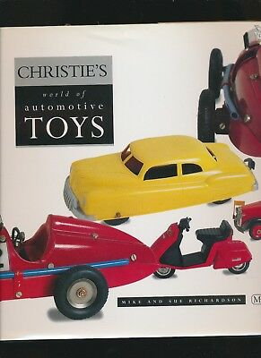Christie's World Of Automotive Toys - Hardbound Deluxe 1890 Up