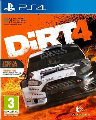 PS4 Spiel DiRT 4 Day One Edition NEUWARE