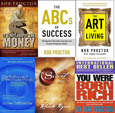 Bob Proctor Books Kit - Born Rich + ABC + Art - 6 Books Set [PDF - E-B00K] FAST