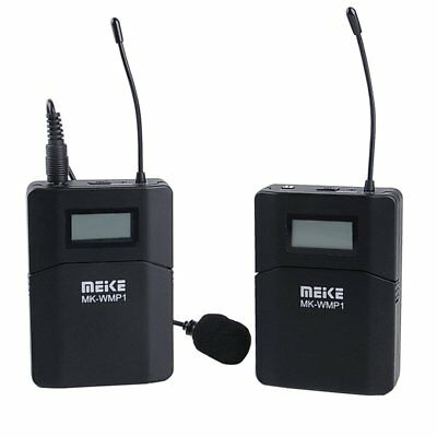 MEIKE WMP1 UHF Wireless Microphone Mic For Camera DV Camcorder Video Recording