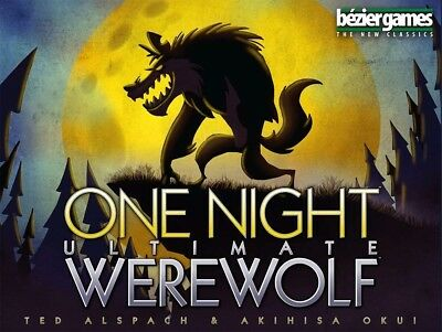 One Night Ultimate Werewolf Board Game (Free Shipping)