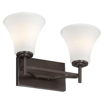 Minka Lavery 5932-284 2-Light Bath Vanity Light from the Middlebrook Collection