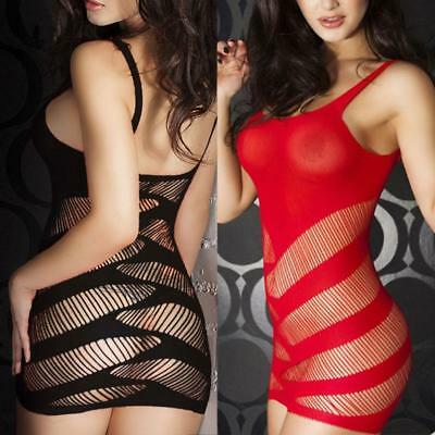 Women Sexy Lingerie Sleepwear Lace Ladies G-string Dress Babydoll Nightwear K1S0