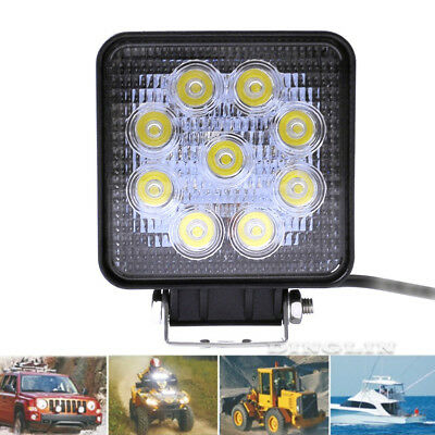 80W LED Work Light Bar Spot Driving Fog Lamp Off Road For Truck Boat Jeep SUV