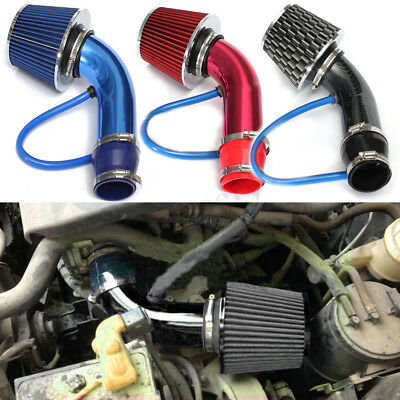 1x Universal Cold Air Intake Induction Hose Pipe Kit System & Filter 2.5'' 3.0''