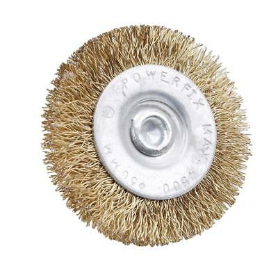 Heavy Duty Drill Wire Wheel Cup Flat Brush Metal Cleaning Rust Sanding Lc