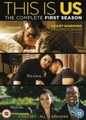 This Is Us Season 1 Series One First (Justin Hartley) New Region 4 DVD