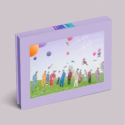 THE BOYZ - THE ONLY [In the Air ver.] CD+Photocard+Folded Poster+Tracking no.
