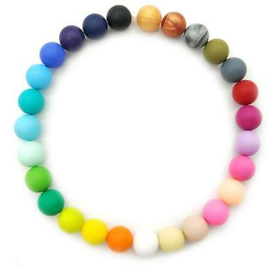 DIY Food grade Silicone loose Beads Baby Molar Teether Pacifier chain Accessorie