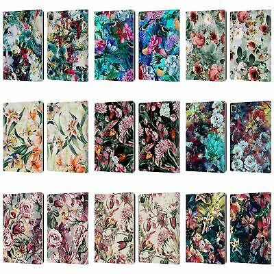 OFFICIAL RIZA PEKER FLOWERS 2 LEATHER BOOK WALLET CASE COVER FOR APPLE iPAD