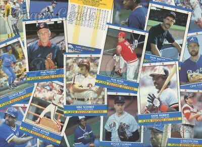 1987 Fleer Baseball Record Setters Complete Set NM/MT