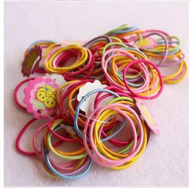 Assorted Colorful Elastic Rubber Bands For Small Dog Cat Hair Bows Pet Grooming