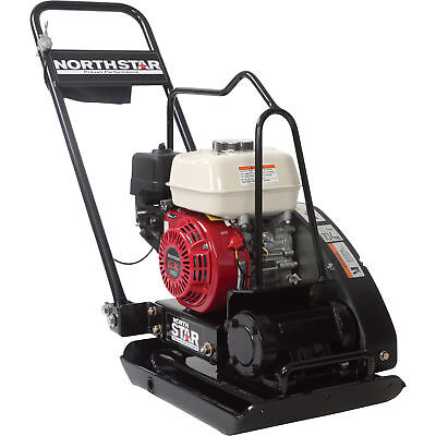NorthStar Close-Quarters Plate Compactor - With Honda GX160 Engine