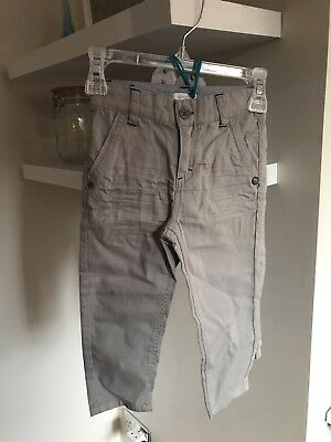 BARGAIN REDUCED DESIGNER ABSORBA Chino Trousers Age 2 Rrp £29.99 Bnwt