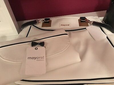 BARGAIN MAYORAL Changing Organiser Bag With Nappy Changing Clutch Rrp £52.00 Bn