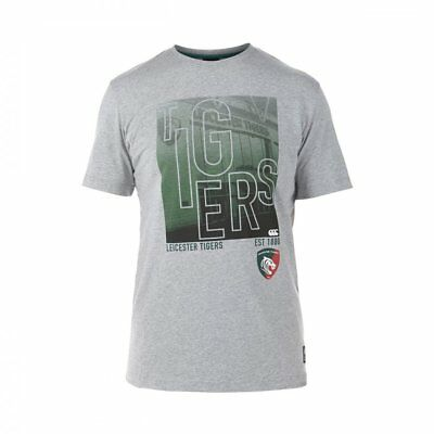 Canterbury Leicester Tigers T-Shirt  (OFFICIAL MERCHANDISE)
