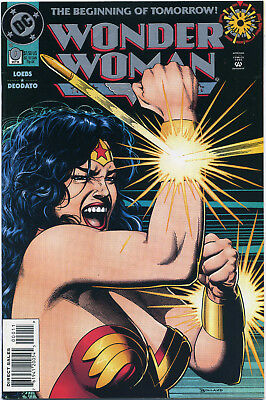 Wonder Woman #0 (Dc 1994) Vf+/nm- First Print Bagged