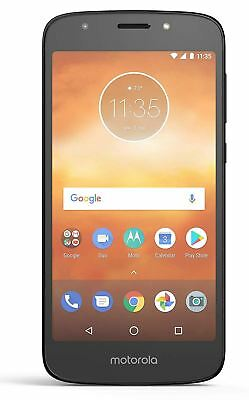 "Motorola Moto E5 Play 5.34"" Smartphone 1GB 16GB 8MP Black Unlocked Sim Free"