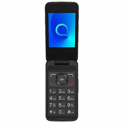 "Alcatel 3025X 2.3""  Flip Style Mobile Phone 3G Quadband Grey Unlocked Sim Free"