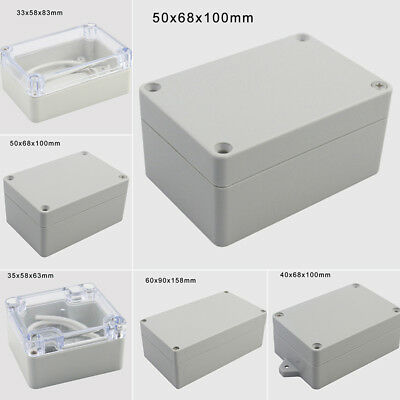 Waterproof Abs Plastic Electronics Accs Project Box Enclosure Hobby Case Ip65