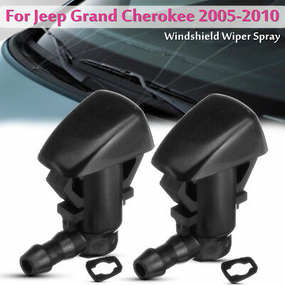 4mm Windshield Wiper Water Spray Jet Washer Nozzle For Jeep Grand Cherokee 05-10