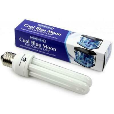 Interpet AQ13 15w Bulb Cool Blue Moon Replacement Lamp Tube for Fish Tanks Pod