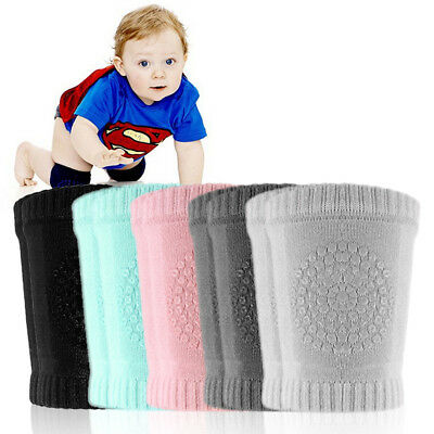 Newborn Baby Knee Kid Safety Breathable Crawling Elbow Knee Protective Pad GU