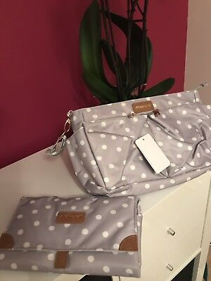 BARGAIN MAYORAL Changing Organiser Bag With Nappy Changing Clutch Rrp £47.00 Bn