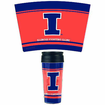 Illinois Fighting Illini Official NCAA Insulated Travel Mug by Wincraft 315298