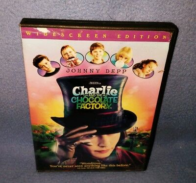 Charlie and the Chocolate Factory (DVD, 2005, Full Frame) (Used)