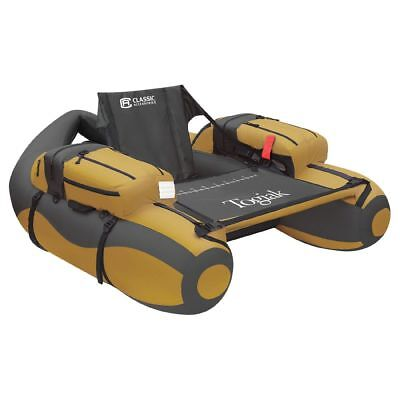The Togiak Float Tube In Gold and Grey - Classic# 32-007-014001-00