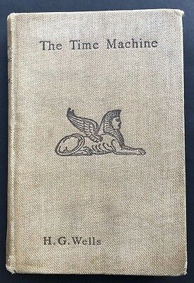 1895 - THE TIME MACHINE, HG WELLS, 1ST UK EDITION - free shipping