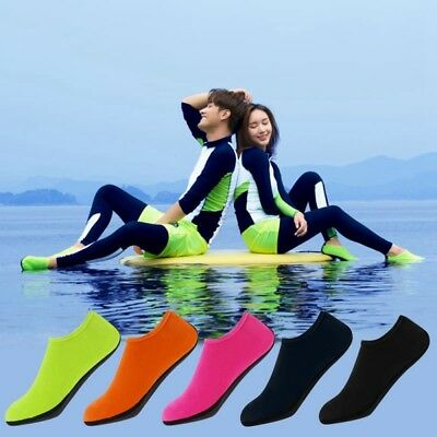 1 Pair Outdoor Non-Slip Water Swimming Scuba Diving Surfing Beach Sea Pool Sock