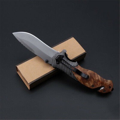 EDC Multifunction Tactical Folding Knife Bowie Survival Camping Outdoor Hunting