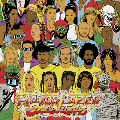 Major Lazer Essentials (2018) Brand New Sealed 2Cd Bruno Mars Ariana Grande