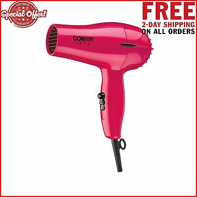 Hair Blow Dryer Compact Travel Blower Professional Styling Tool Cold Shot 1875W