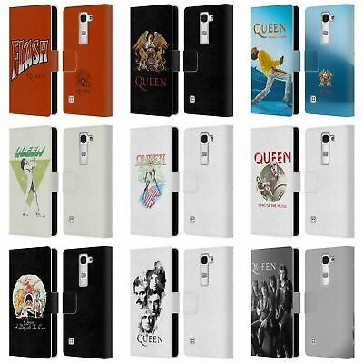 Official Queen Key Art Leather Book Wallet Case Cover For Lg Phones 2