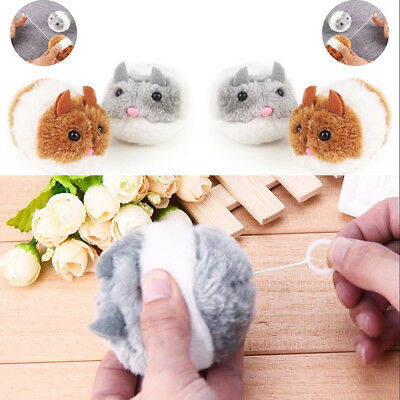Plush Fur Mouse Shake Mouse Cat Toy Pet Little Interactive Kitten Playing Toys