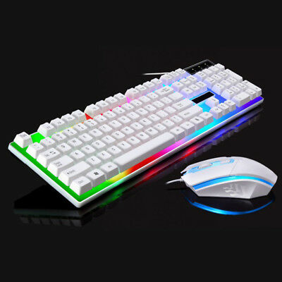 Pro Keyboard Mouse Sets Adapter For PS4/PS3/Xbox One And 360 Gaming Rainbow LED