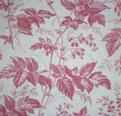 NEW STOCK BEAUTIFUL MID 19th CENTURY FRENCH LINEN COTTON TOILE DE JOUY 10.