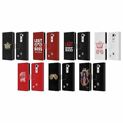 Official Wwe Sasha Banks Leather Book Wallet Case Cover For Lg Phones 2