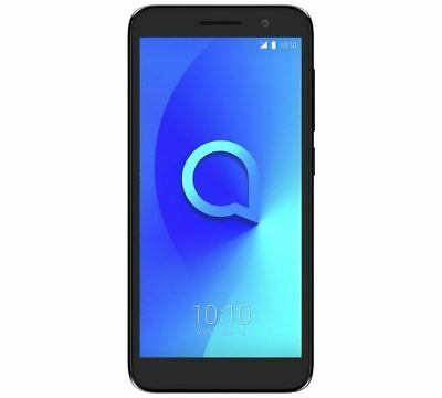 "Alcatel 1 5"" Smartphone 1GB 8GB 8MP 4G Black Unlocked Sim Free Grade C"