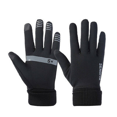 1 Pair Unisex Winter TouchScreen Gloves Soft Liner Thermal Walking Mittens
