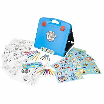 Nickelodeon Paw Patrol Travel Art Easel With Over 30 Extra Pieces For 3-4 Years