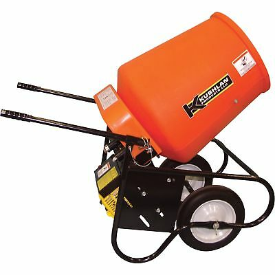 Kushlan 3.5 Cubic Ft. Drum Portable Gas-Powered Concrete Mixer, #350 GAS