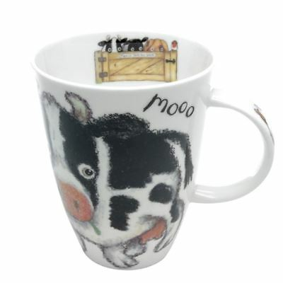 Roy Kirkham Please Shut Gate Cow Louise Mug