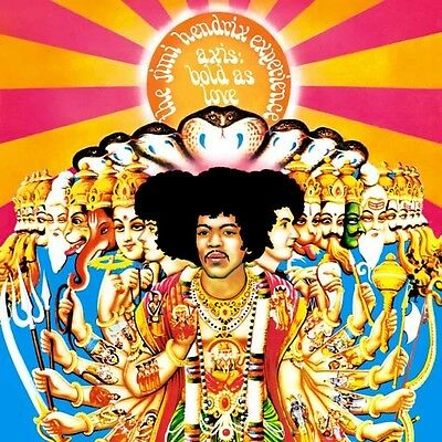 THE JIMI HENDRIX EXPERIENCE Axis: Bold As Love CD BRAND NEW Remastered