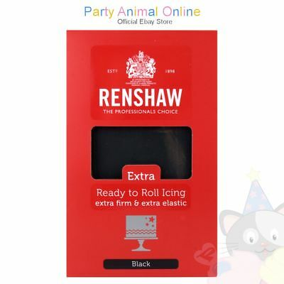 Renshaw - Professional Ready to Roll Extra Firm & Extra Elastic Icing - 1Kg Pack